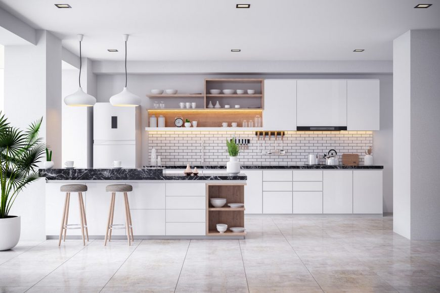 Modern Kitchen | EJS Electrical